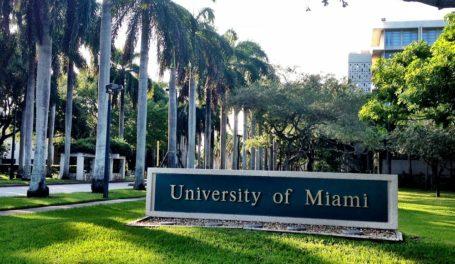 The University of Miami, Florida